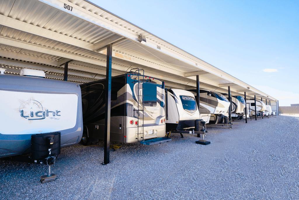 Enclosed RV u0026 Boat Storage & 134th u0026 S. Upland RV u0026 Boat - Affordable Storage Lubbock