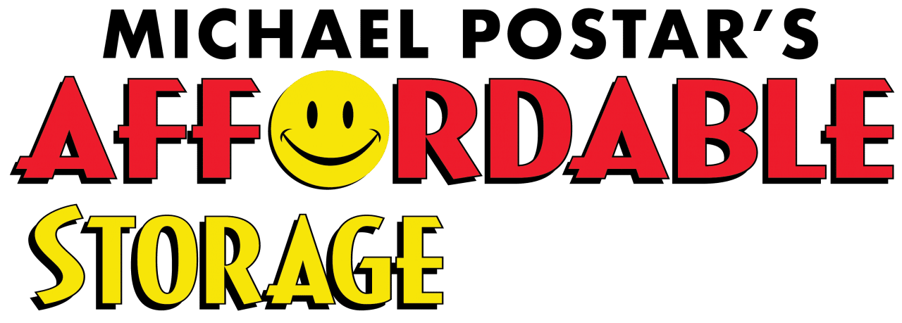 Michael Postar's Affordable Storage Logo